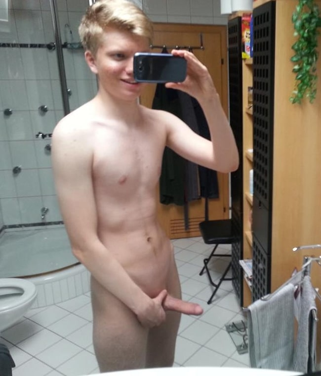Blonde Guy's Dick