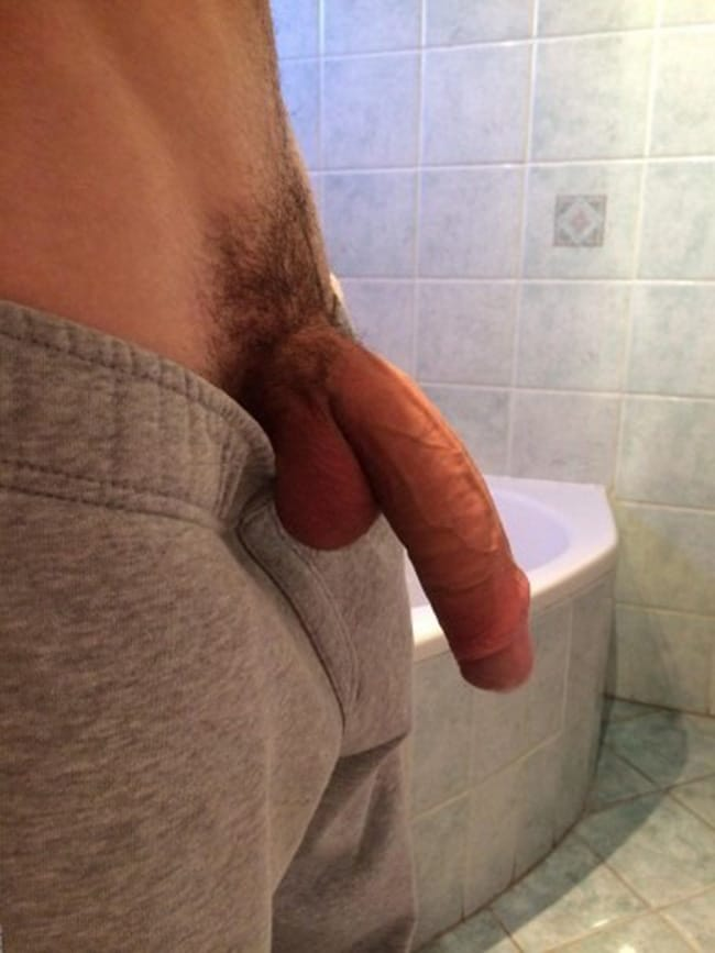 Guy With A Hanging Dick
