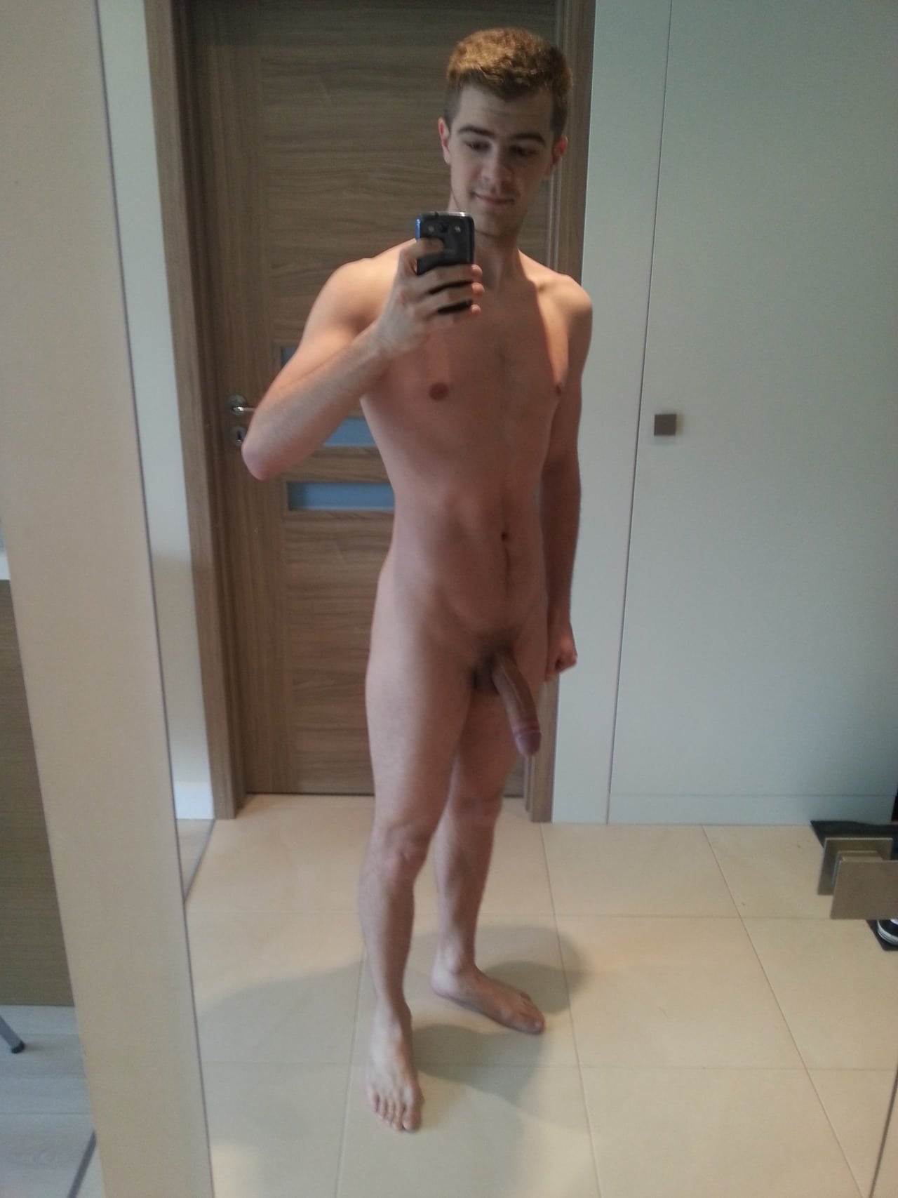 Boy hard huge cock