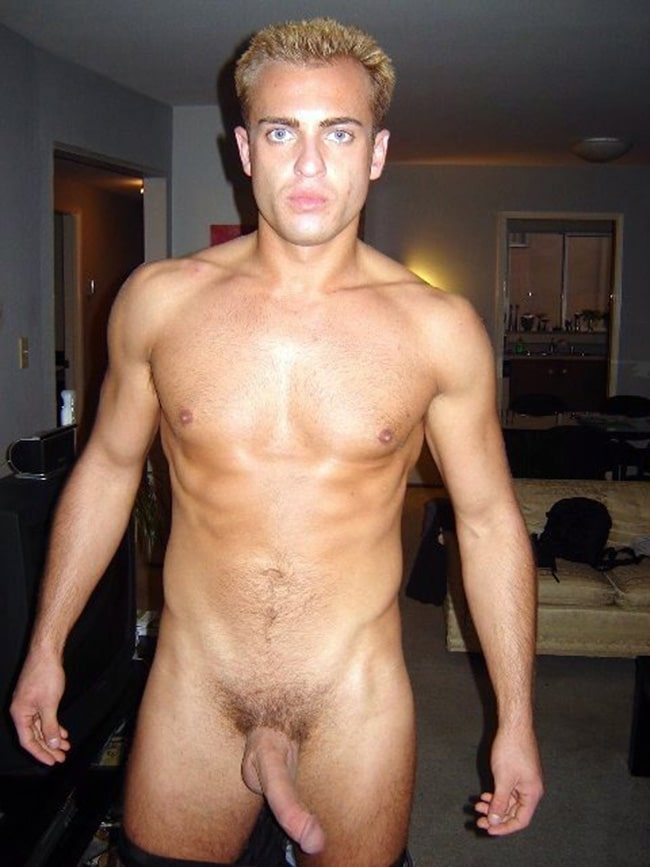 Guy With A Curved Cock