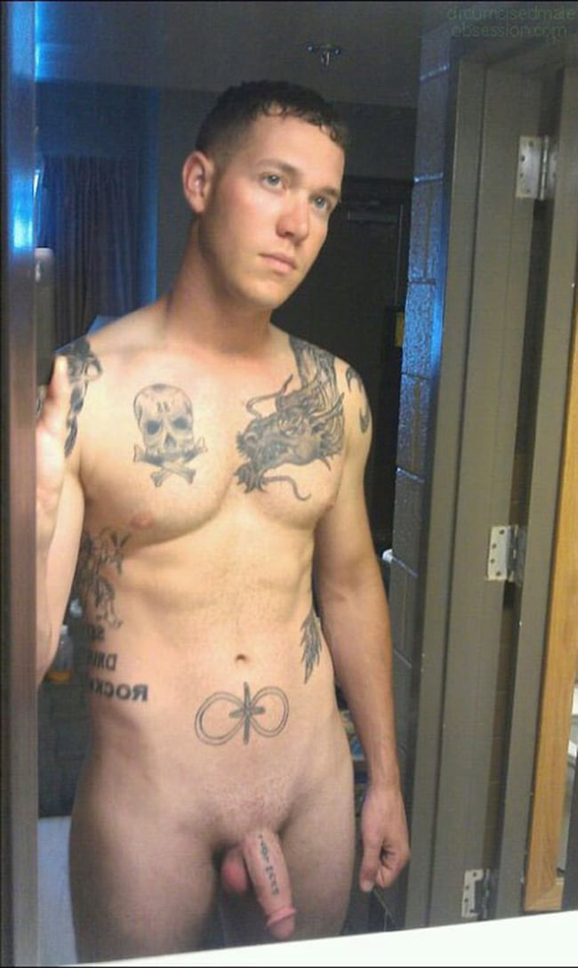 Tattooed Guy's Softie